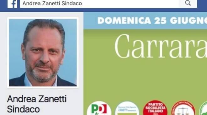 Andrea Zanetti pagina FB