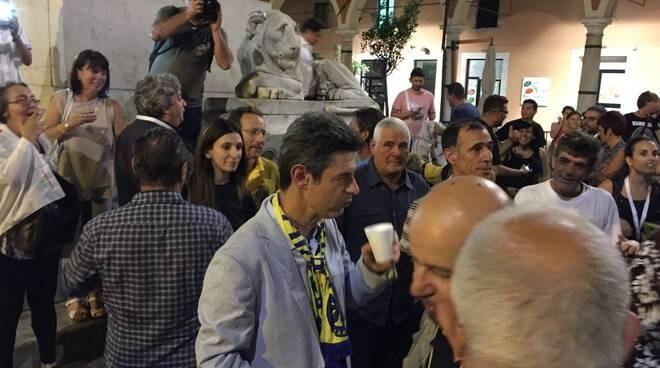 Festa per Francesco De Pasquale