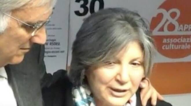 Gabriella Gabrielli insieme all'ex-sindaco Roberto Pucci