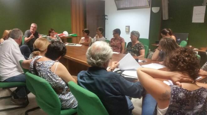 La commissione riunita