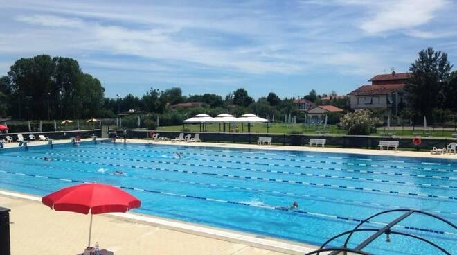 La piscina scoperta di via Roma.