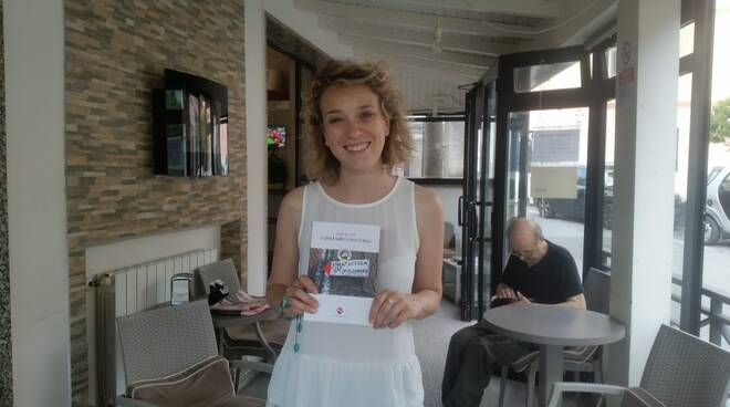 Martina Fabbri e il suo libro ''A piedi sulla Linea Gotica''