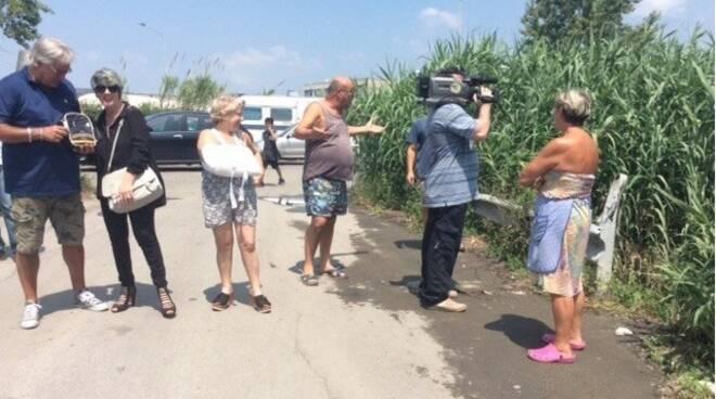 Residenti Lavello - Protesta