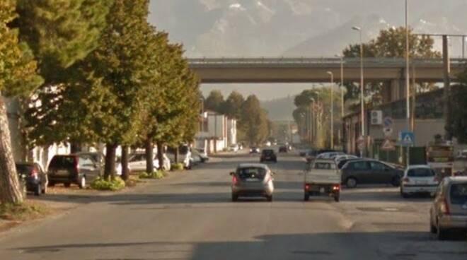 Viale Zaccagna a Carrara
