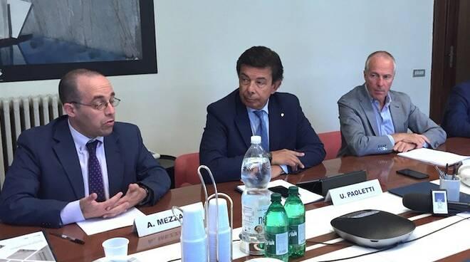 Andrea Mezzadri, Umberto Paoletti e Erich Lucchetti