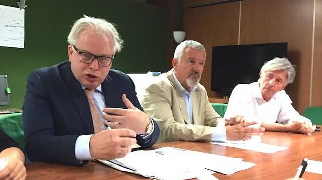 Lucio Barani, Stefano Benedetti, Mauro Rivieri