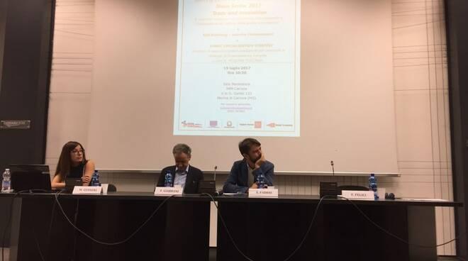 Manuela Gussoni, Emanuele Fabbri e Filippo Giabbani.