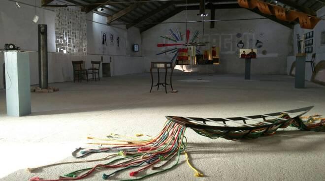 Una panoramica della mostra