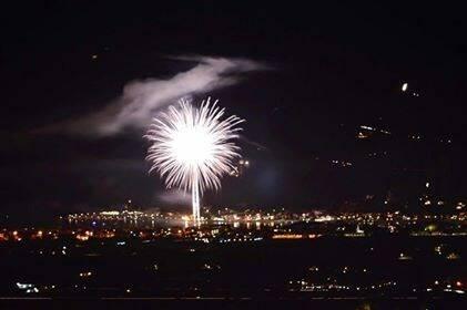 Fuochi d'artificio Ameglia 25 agosto 2017