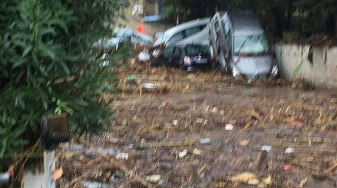 Alluvione a Livorno, le foto della VAB