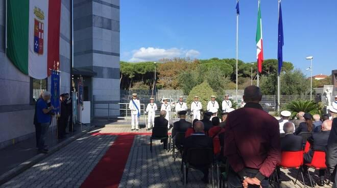 La cerimonia per il passaggio di consegne da Marco Landi a Maurizio Scibilia