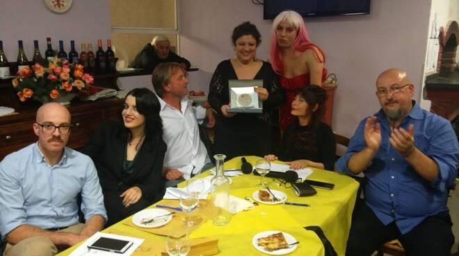 La giuria premia la vincitrice Antonella Franchini