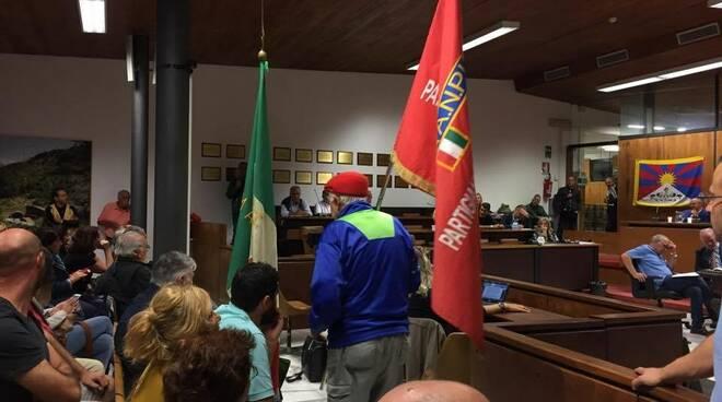 Presidio antifascista in consiglio comunale