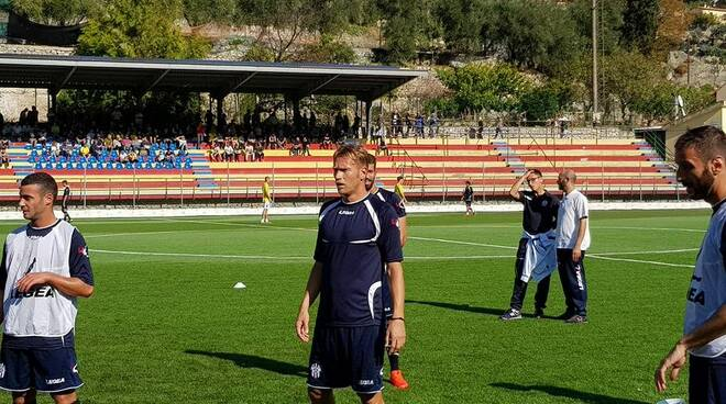 Mair, bomber del Savona che ha deciso il match in casa del Finale al 90°.