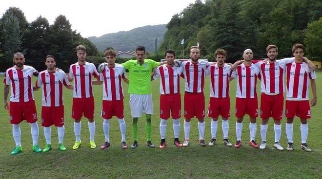 Un undici di partenza del Ghivizzano Borgoamozzano in questa stagione.