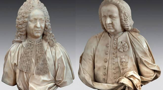 I busti del Cybei appartenenti alla collezione privata di Vittorio Sgarbi