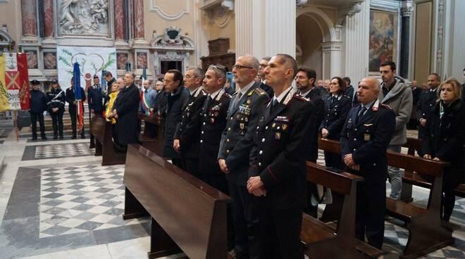 """La cerimonia della """"Virgo fidelis"""""""
