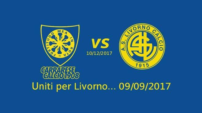Bandierina Carrarese-Livorno