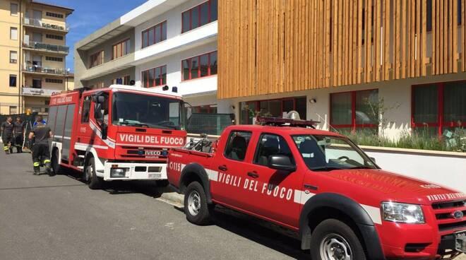 Distaccamento vigili del fuoco a Pontremoli