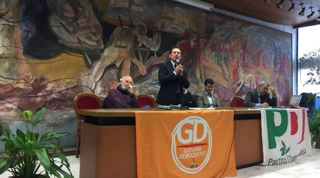 Il nuovo segretario provinciale PD Enzo Manenti