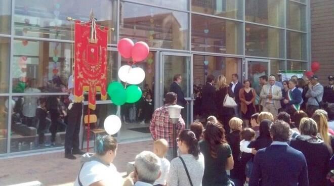 L'inaugurazione della scuola primaria di Aulla