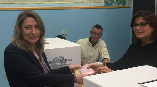 Martina Nardi (PD) al voto