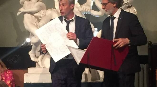 Cattelan e Bottura professori onorari dell'Accademia delle Belle Arti