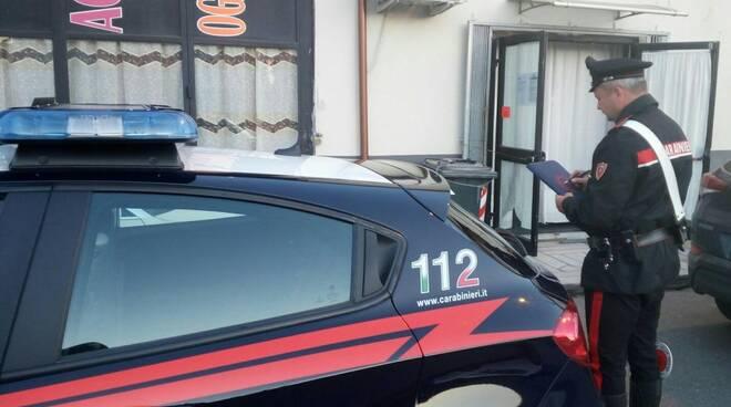 I carabinieri della stazione di Carrara