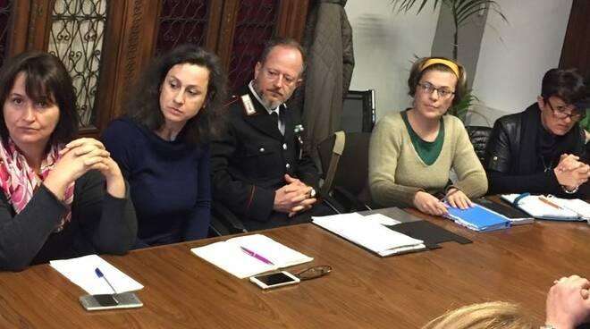 L'incontro della commissione col maresciallo Anzalone
