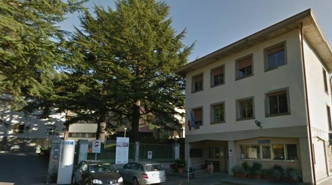 L'ospedale di Fivizzano.