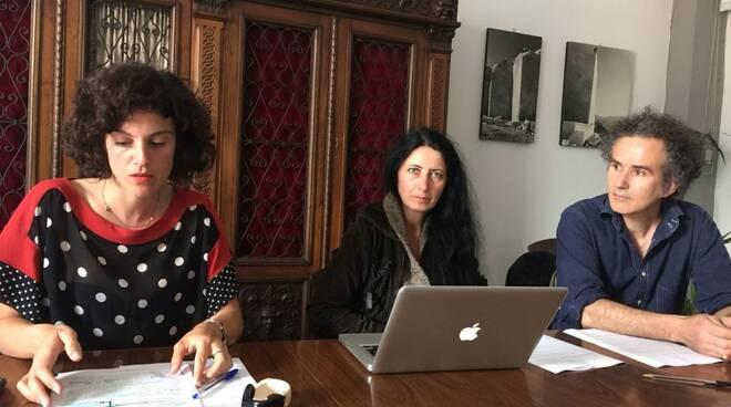 Federica Forti, Bianca Barletta e Cesare Mancuso