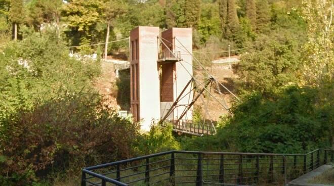 Il Ponte della Padula sul torrente Gragnana