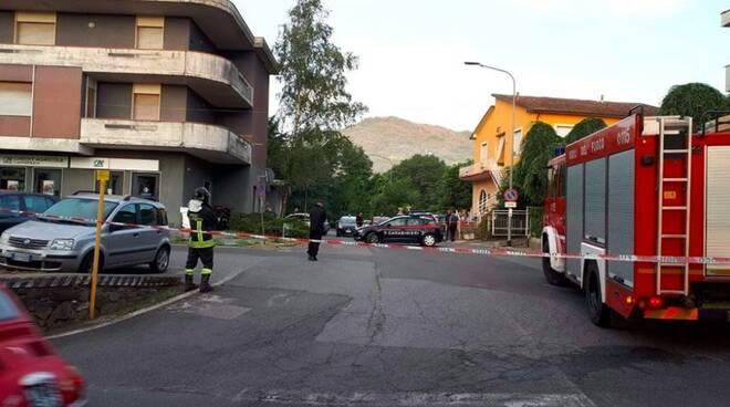 Allarme bomba a Barbarasco: evacuato palazzo