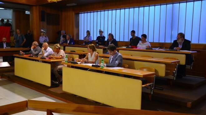 Il primo Consiglio comunale di Massa (12/07/2018)