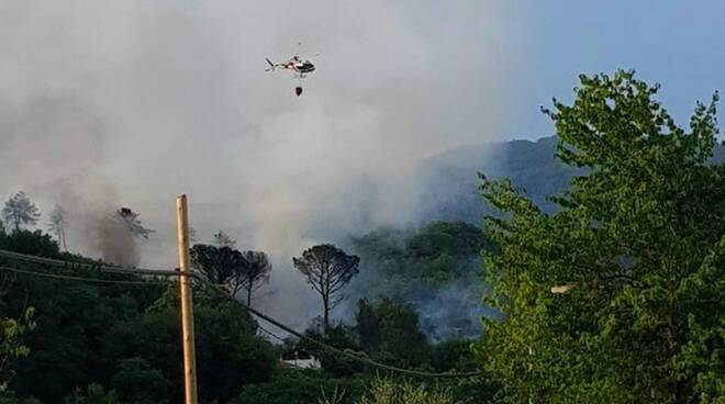 Incendio a Montedivalli