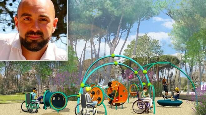 Thomas Santi Cassani e come diventerà il parco Puccinelli di Marina di Carrara