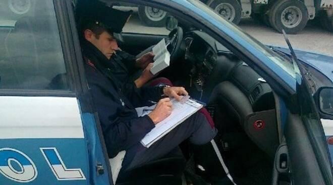 Un agente di polizia