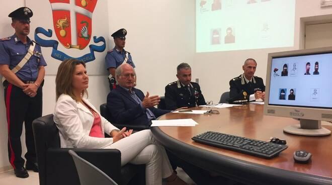 Roberta Moramarco, Aldo Giubilaro, Massimo Rosati e Tiziano Marchi