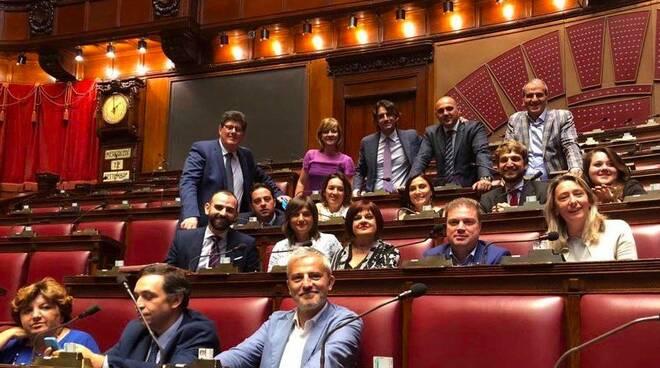 I deputati del Pd che hanno occupato la Camera