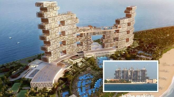 Come sarà il Royal atlantis a Dubai
