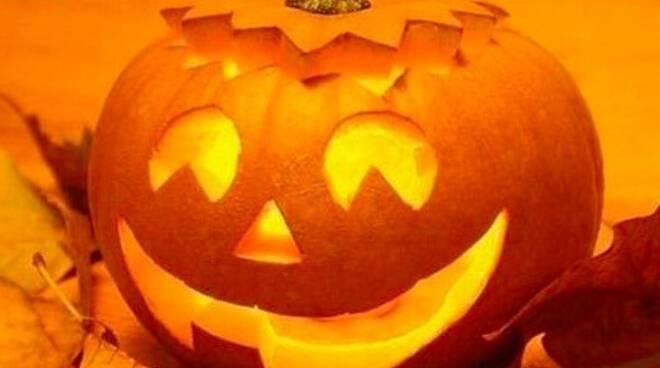 La tipica zucca di Halloween