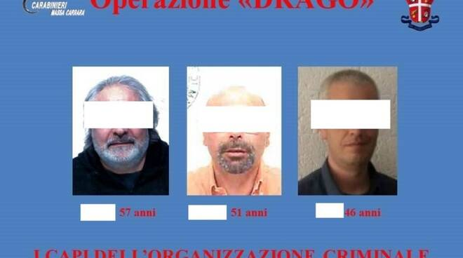 I capi dell'organizzazione mafiosa arrestati