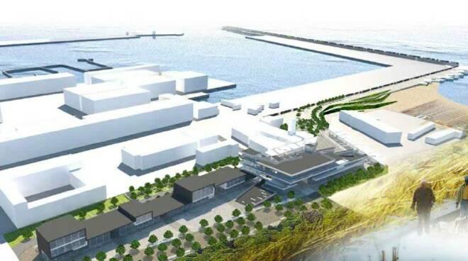 Il progetto waterfront a Marina di Carrara
