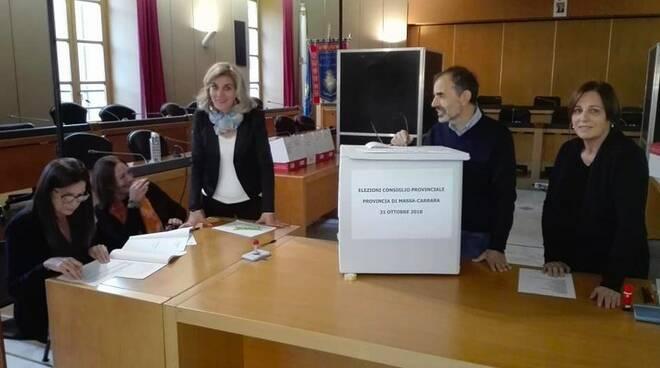 Il seggio nel Consiglio provinciale di Massa-Carrara