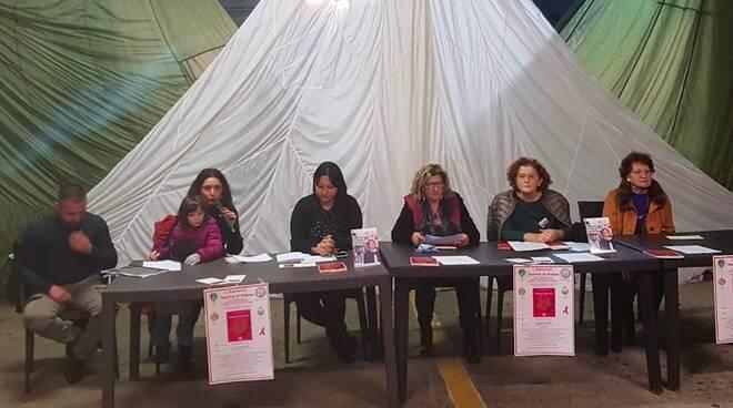 La conferenza contro la violenza sulle donne avvenuta al Cinquale