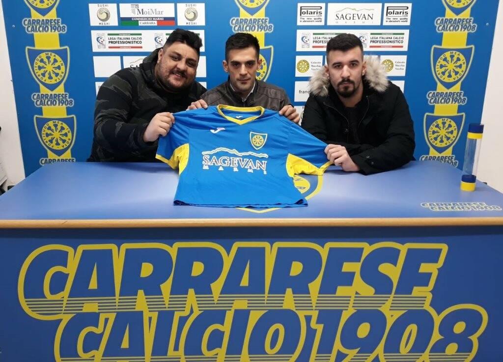 Da sinistra verso destra Jakupi Xhemalil, Mirko Morabito e Gianmarco Biagioni