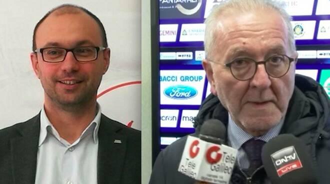 Matteo Martinelli e Francesco Ghirelli
