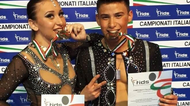 Asia Lazzoni e Marco Restani