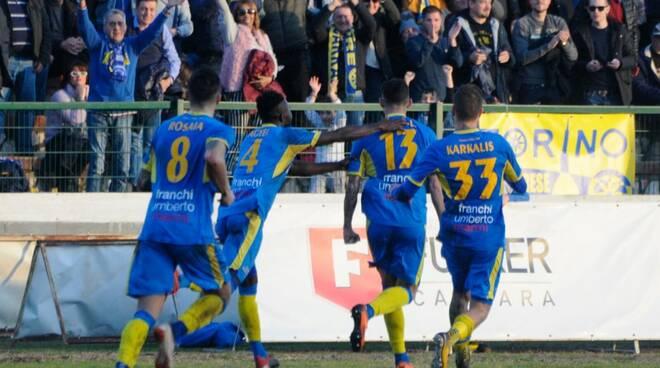Carrarese-Arzachena 2-0 (30/12/2018)