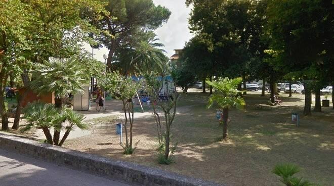 Il parco del Brugiano a Marina di Massa
